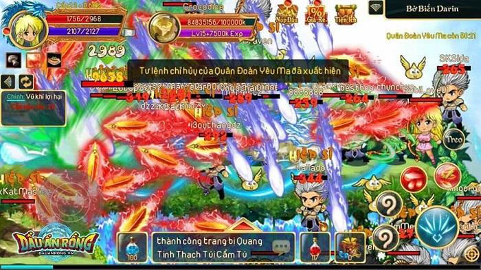 Dấu Ấn Rồng Mobile chinh phục hơn triệu người chơi sau 2 đợt Alpha Test 1