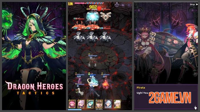 Dragon Heroes Tactics - Game chiến thuật có chiều sâu với đồ họa tuyệt đẹp 0