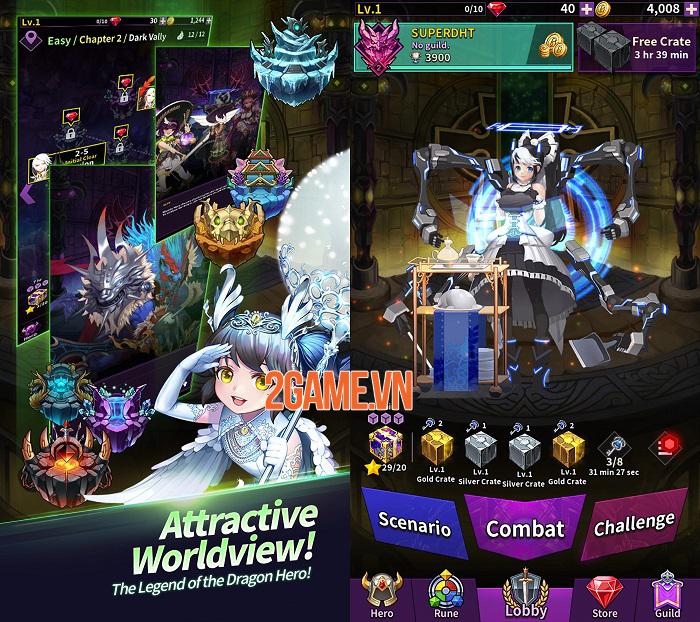Dragon Heroes Tactics - Game chiến thuật có chiều sâu với đồ họa tuyệt đẹp 2