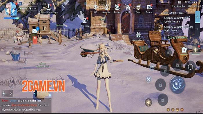 Đồ họa của game mobile Dragon Raja trông chẳng thua gì game PC nhỉ! 0
