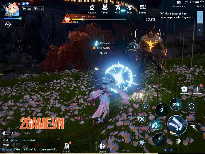 Đồ họa của game mobile Dragon Raja trông chẳng thua gì game PC nhỉ! 5