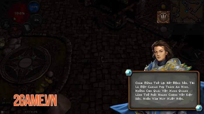 Dungeon and Evil có lối chơi chặt chém lẫn những khung hình đúng chất Diablo 0