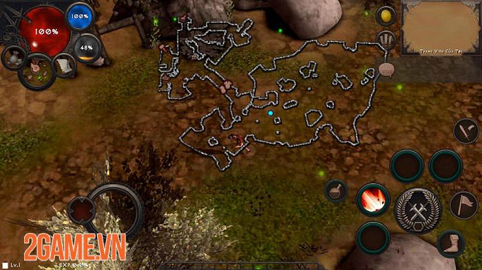 Dungeon and Evil có lối chơi chặt chém lẫn những khung hình đúng chất Diablo 2