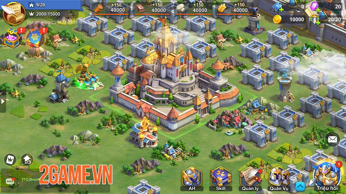 Trải nghiệm Heroes of Ages: Game chiến thuật