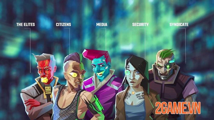 InfiniteCorp - Game thẻ bài chiến thuật bối cảnh thế giới mạng tương lai 1