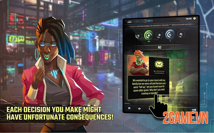 InfiniteCorp - Game thẻ bài chiến thuật bối cảnh thế giới mạng tương lai 3
