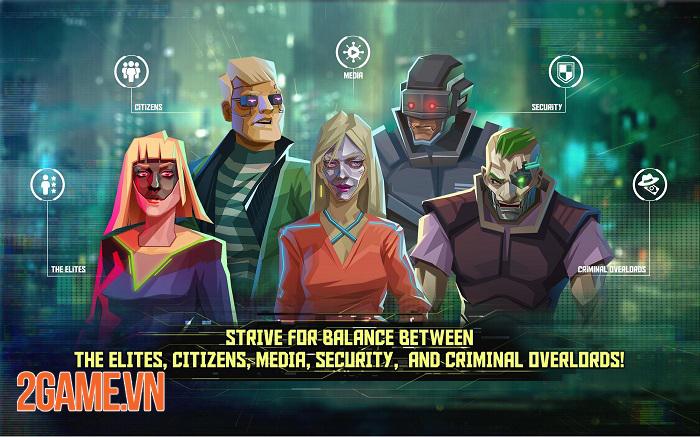 InfiniteCorp - Game thẻ bài chiến thuật bối cảnh thế giới mạng tương lai 2