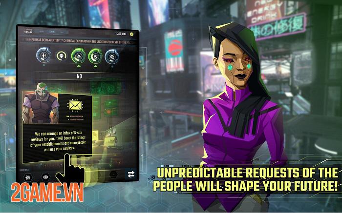InfiniteCorp - Game thẻ bài chiến thuật bối cảnh thế giới mạng tương lai 4