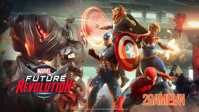 Marvel Future Revolution - Game nhập vai thế giới mở có quy mô lớn nhất về vũ trụ Marvel 0