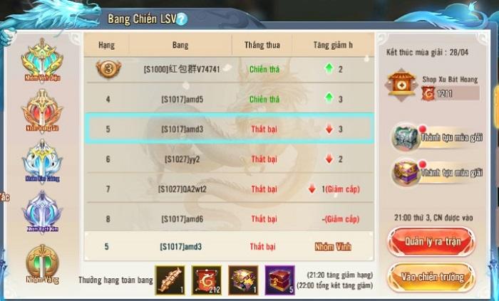 Bản cập nhật của Nhất Kiếm Giang Hồ sẽ trình làng tính năng Bang Chiến Liên Server cực chất 3