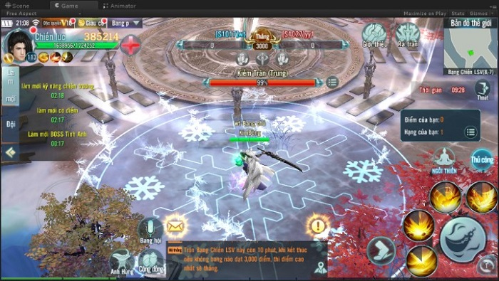 Bản cập nhật của Nhất Kiếm Giang Hồ sẽ trình làng tính năng Bang Chiến Liên Server cực chất 4