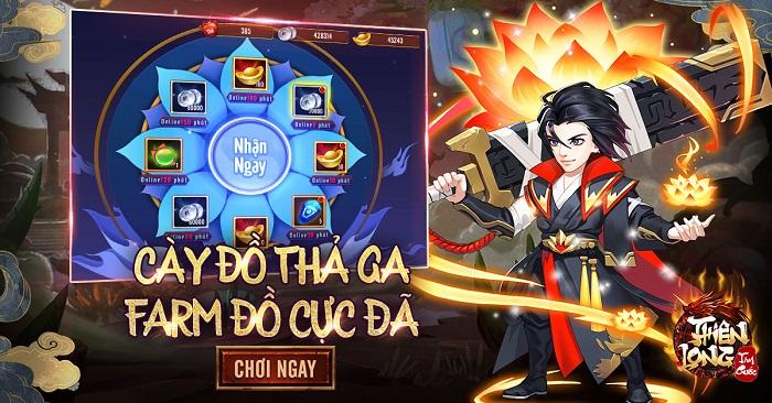 Game Thiên Long Tam Quốc cho phép dân cày sống khỏe đua TOP tẹt ga 0