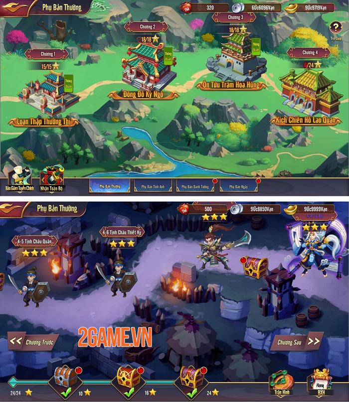 Game Thiên Long Tam Quốc cho phép dân cày sống khỏe đua TOP tẹt ga 1