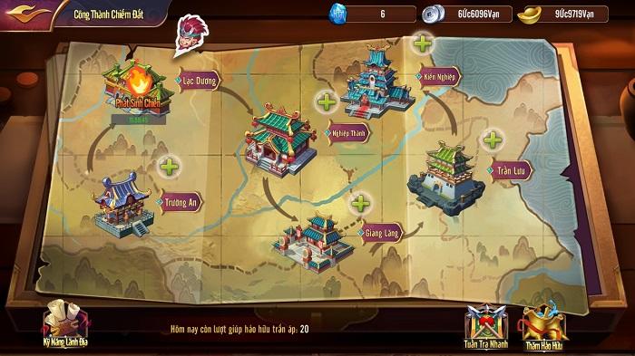 Game Thiên Long Tam Quốc cho phép dân cày sống khỏe đua TOP tẹt ga 3