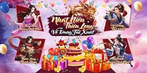 Tân Thiên Long Mobile VNG tổ chức sinh nhật linh đình mừng 1 năm đại thành công