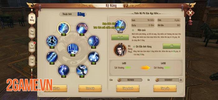 Ra mà xem game thủ Tân Thiên Long Mobile lại hô hào chuyển phái Võ Đang này! 2