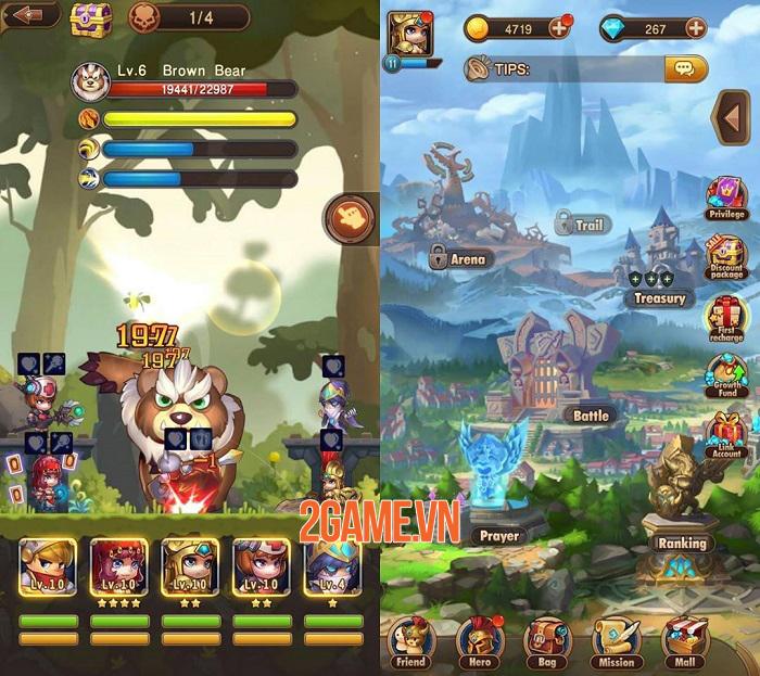 Taptap Warriors - Tựa game nhập vai có lối chơi thú vị và đậm chất giải trí 3