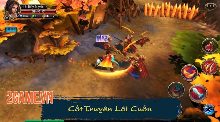 Thuận Thiên Kiếm Mobile mở ra một thế giới thần thoại Việt Nam đầy tráng lệ 1
