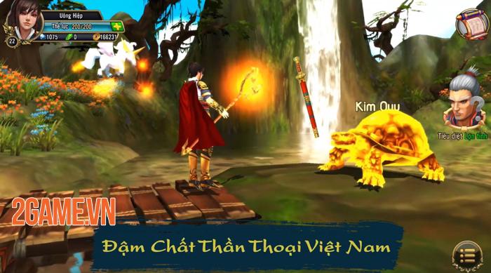 Thuận Thiên Kiếm Mobile mở ra một thế giới thần thoại Việt Nam đầy tráng lệ 0