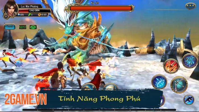 Thuận Thiên Kiếm Mobile mở ra một thế giới thần thoại Việt Nam đầy tráng lệ 2