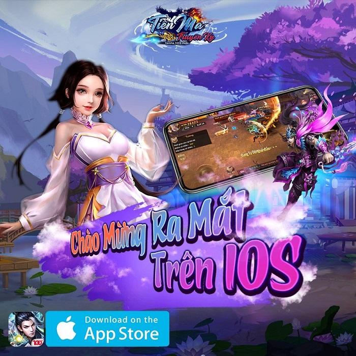 Phiên bản iOS của Tiên Ma Truyền Kỳ đến tay người chơi sau gần 2 tháng ra mắt 0