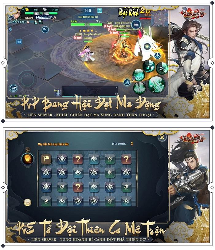 Game thủ VLTK Mobile chính thức chạm tay vào phiên bản mới Dương Danh Tứ Hải 2