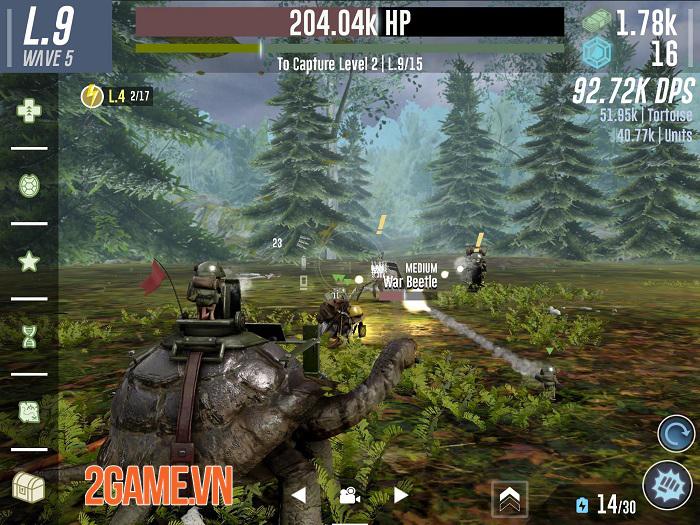 War Tortoise 2 thêm vào nhiều yếu tố thú vị hơn phần tiền truyện 0