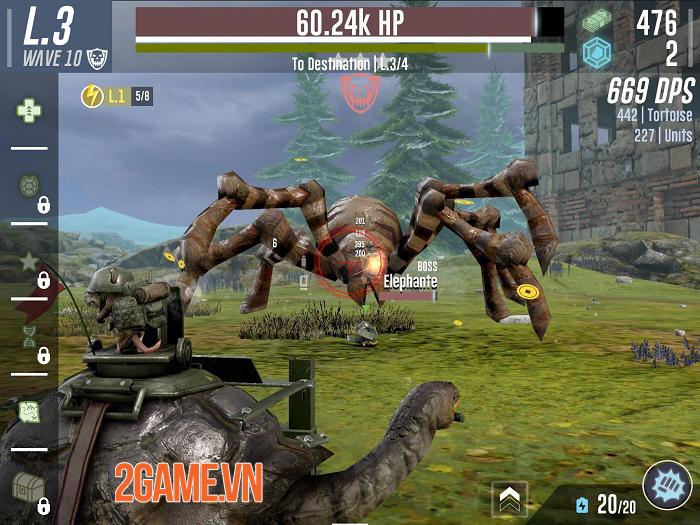 War Tortoise 2 thêm vào nhiều yếu tố thú vị hơn phần tiền truyện 1