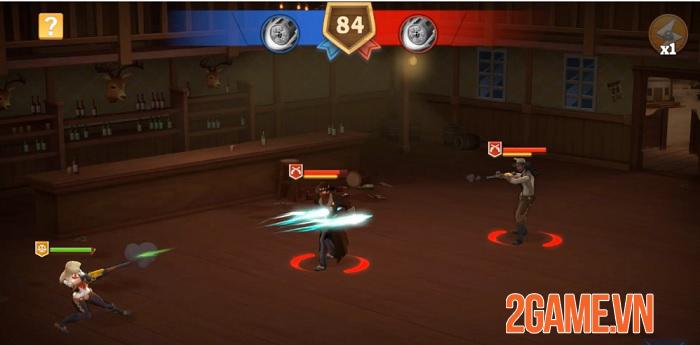 Wild West Heroes - Game mô phỏng quản lý thị trấn miền Tây hoang dã 1