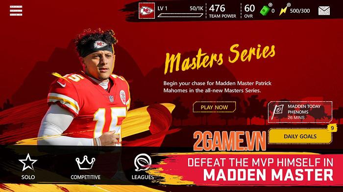 Madden NFL Mobile - Phiên bản rút gọn của trò chơi console nổi tiếng 2