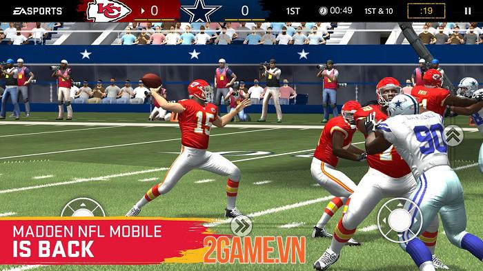 Madden NFL Mobile - Phiên bản rút gọn của trò chơi console nổi tiếng 0