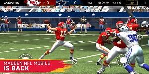 Madden NFL Mobile – Phiên bản rút gọn của trò chơi console nổi tiếng