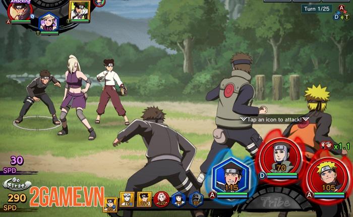 Naruto x Boruto Ninja Tribes sử dụng các đoạn cắt cảnh như được lấy ra từ anime 2