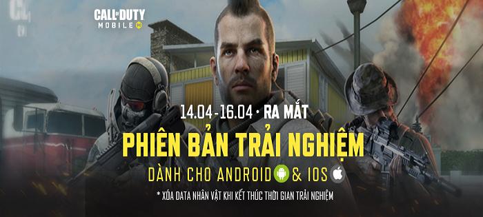 Call of Duty: Mobile VN công bố thời gian ra mắt phiên bản thử nghiệm giới hạn 0