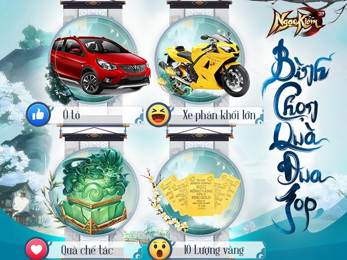 Game thủ Ngạo Kiếm 3D đòi tặng quà NPH Funtap để game mở cửa ngay hôm nay 2