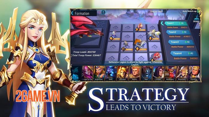 War Legends: Destiny - Game chiến thuật MMO với hơn 100 lãnh thổ chờ chinh phục 1