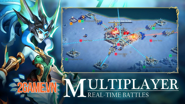 War Legends: Destiny - Game chiến thuật MMO với hơn 100 lãnh thổ chờ chinh phục 2