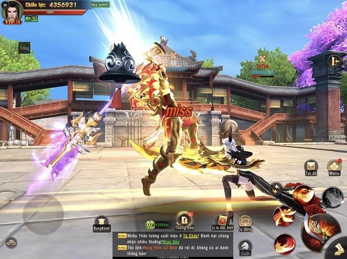 Tham gia sân chơi MMORPG đẳng cấp Chiến Thần 3D Mobile ngay hôm nay! 1