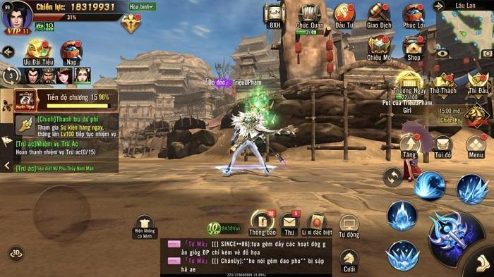 Tham gia sân chơi MMORPG đẳng cấp Chiến Thần 3D Mobile ngay hôm nay! 2