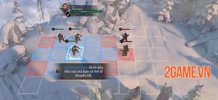 Game of Thrones: Beyond the Wall bản Việt hóa - Đấu tướng chiến thuật theo ô cực hay! 1