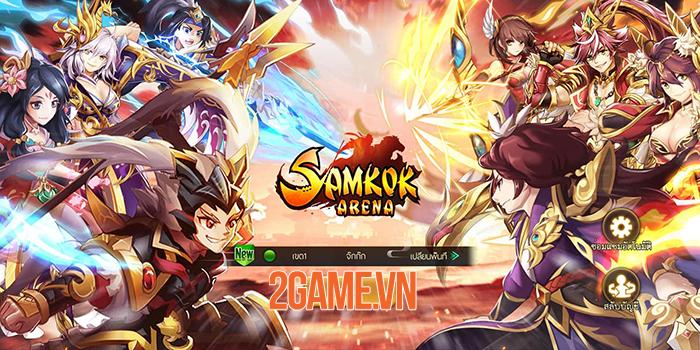 VNG ra mắt game mới Samkok Arena tại Thái Lan 0