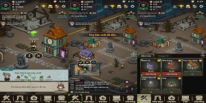 Evil Hunter Tycoon – Trải nghiệm công việc thú vị của một thị trưởng