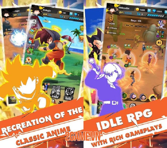 Z-Fighters: Lại thêm một tựa game Idle RPG hay ho về đề tài Dragon Ball 0