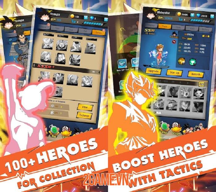 Z-Fighters: Lại thêm một tựa game Idle RPG hay ho về đề tài Dragon Ball 1