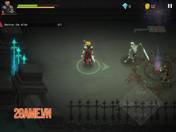 Dark Raider - Game hành động hack'n' slash retro mãn nhãn 1