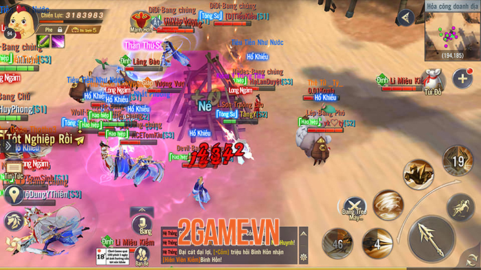 Đi tìm chất riếng trong lối chơi nhập vai thế giới mở của Ngạo Kiếm 3D Mobile 6