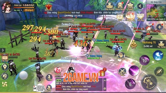 Đi tìm chất riếng trong lối chơi nhập vai thế giới mở của Ngạo Kiếm 3D Mobile 3