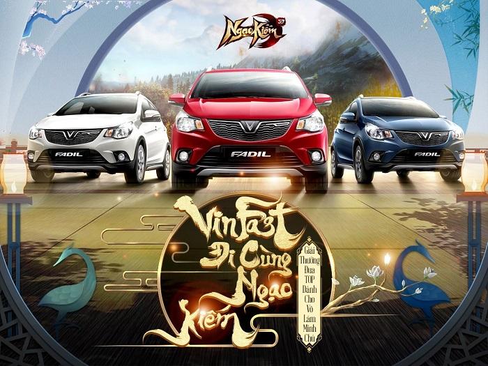 Ngạo Kiếm 3D tung giải thưởng chưa từng có trong lịch sử làng game Việt 0