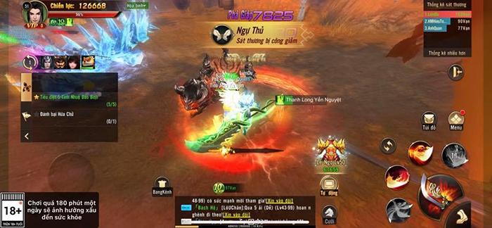Chơi Chiến Thần 3D bạn vẫn được săn Boss nhặt đồ, PK tự do không giới hạn 2