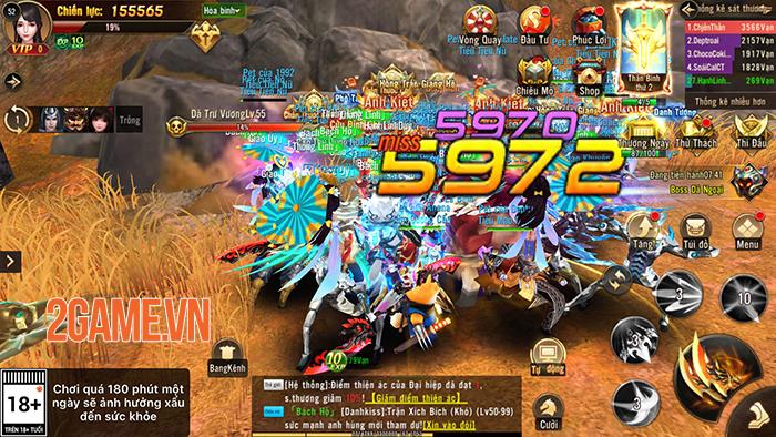 Chơi Chiến Thần 3D bạn vẫn được săn Boss nhặt đồ, PK tự do không giới hạn 3